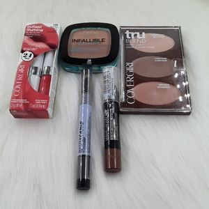 L'Oreal, Covergirl, Maybelline Beauty Bundle .